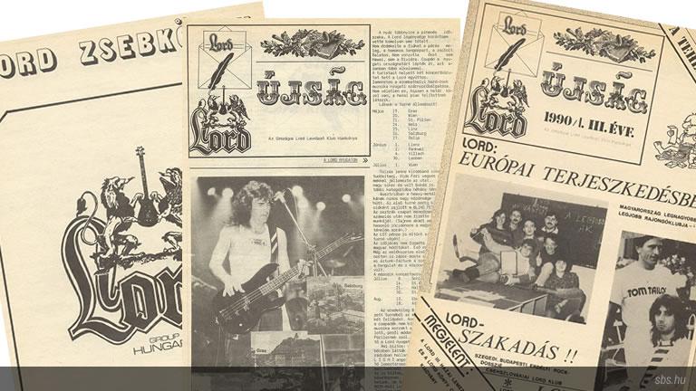 A tatabányai Lord klub által szerkesztett kiadványok 1989 és 1991 között