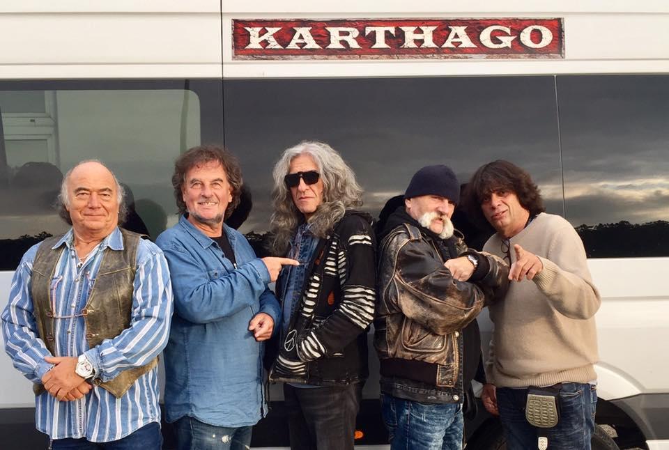 A Karthago zenekar 2017-ben