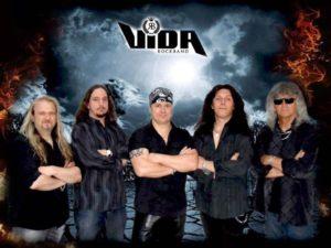Vida Ferenc a Vida Rock Band-el (Fotó: HammerWorld Magazin)