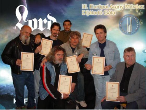 2006. évi Európai Arany Művész Nemzetközi Minőségi díj