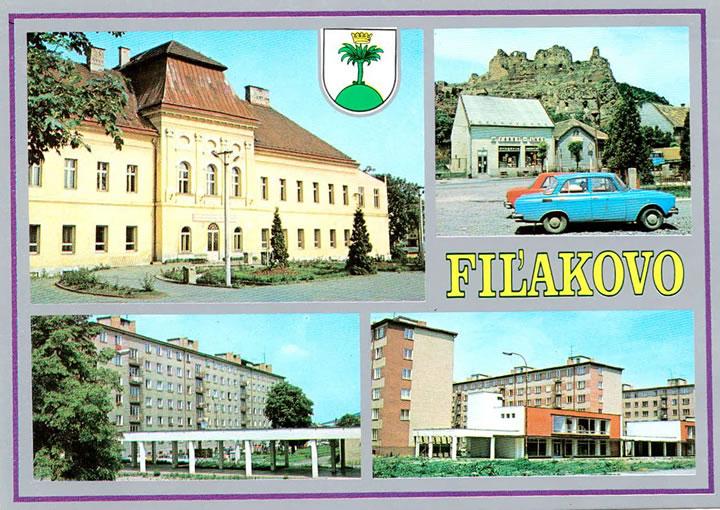Sávoly, képeslap 1990-ből