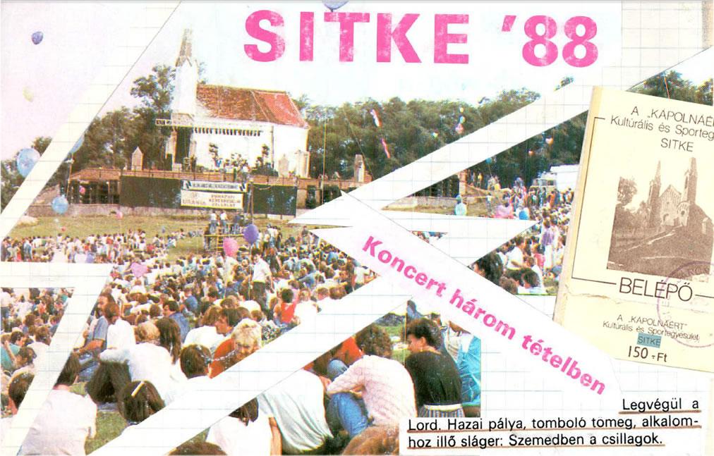 sitkei rockfesztivál - 1988