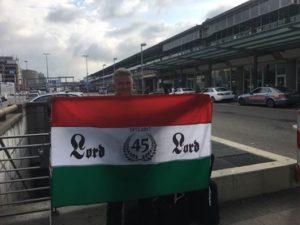A Lord zászló ismét Stuttgartban, az 1986-os koncertre emlékére