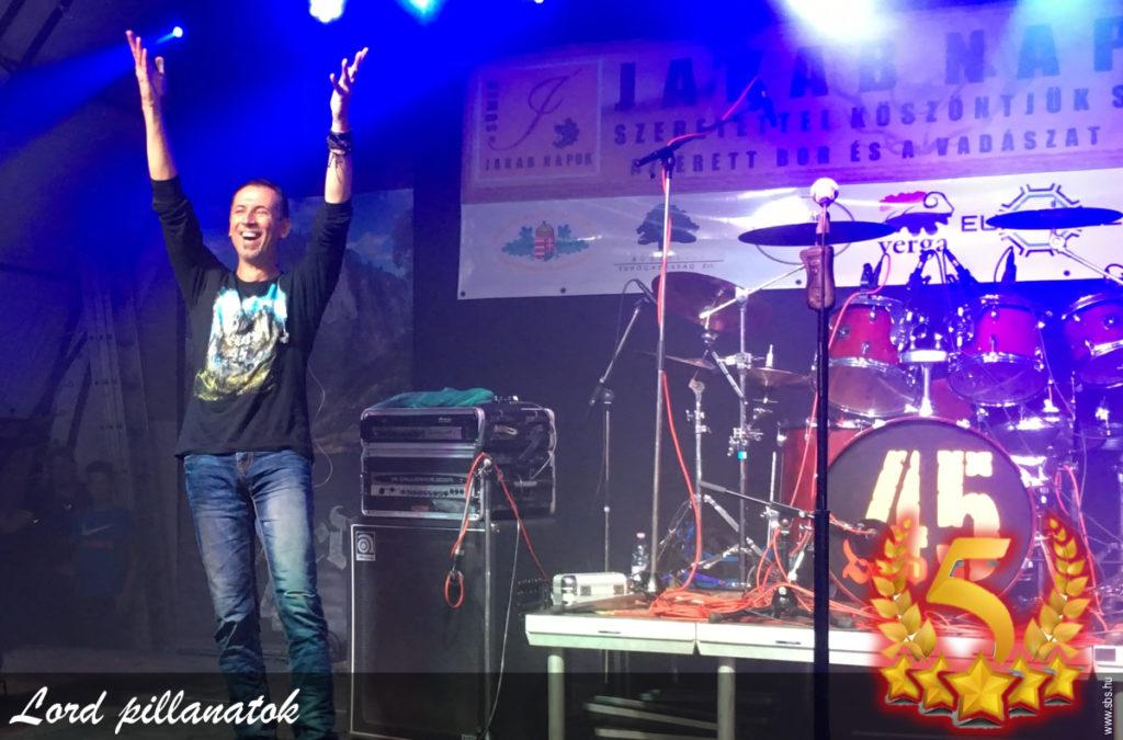 Gyurik Lajos: Lord zenekar 2017