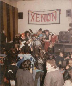 Xenon zenekar egykori fellépése