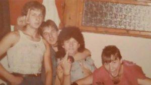 Xenon zenekar backstage 1988 - Fotó: Varga Gábor