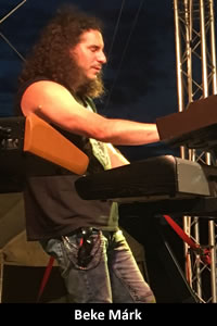 Beke Márk: billentyűs hangszerek (2015–napjainkig)