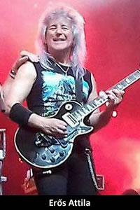 Erős Attila: gitár (1976, 1979 –1992, 2000–napjainkig)
