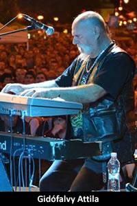 Gidófalvy Attila: billentyűs hangszerek (1987–1990, 2000–2017)