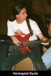Harangozó Gyula: basszusgitár (1992–1993)