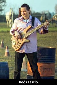 Koós László: basszusgitár (1996)