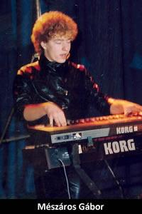 Mészáros Gábor: billentyűs hangszerek (1984–1987)