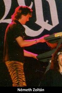 Németh Zoltán: billentyűs hangszerek (1990–1992)