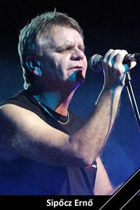 Sipőcz Ernő: ének, gitár (1972–1981) ,(2005-14 között állandó vendég) († 2016)