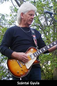 Szántai Gyula: gitár (1974–1979)