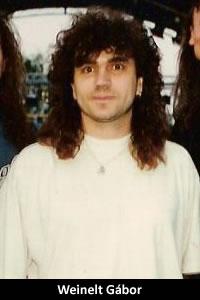 Weinelt Gábor: basszusgitár (1997–1999)